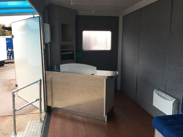 Used exhibition trailer for sale