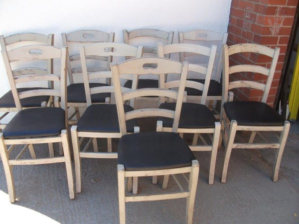 Chic shabby chairs for sale