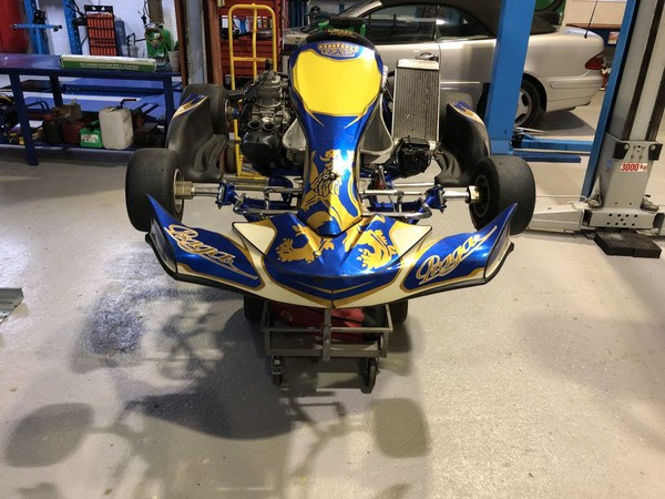 Secondhand single gokart for sale
