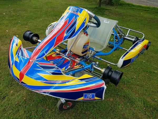 Kart FA Alonso OTK Rolling Chassis 2015 Tonykart Kosmic For Rotax / Iame Classes