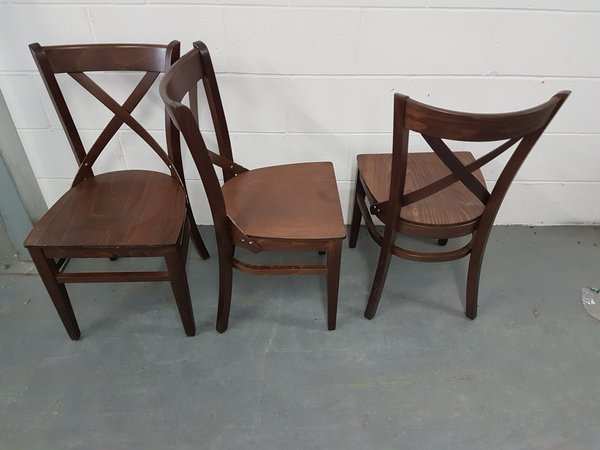 Cross back chairs for sale
