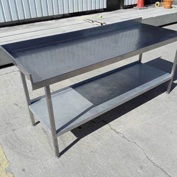 Secondhand table and shelf