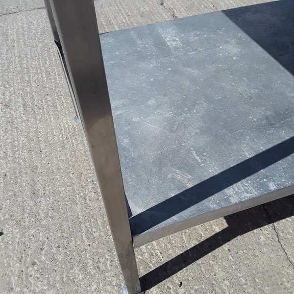 Used steel table shelf for sale