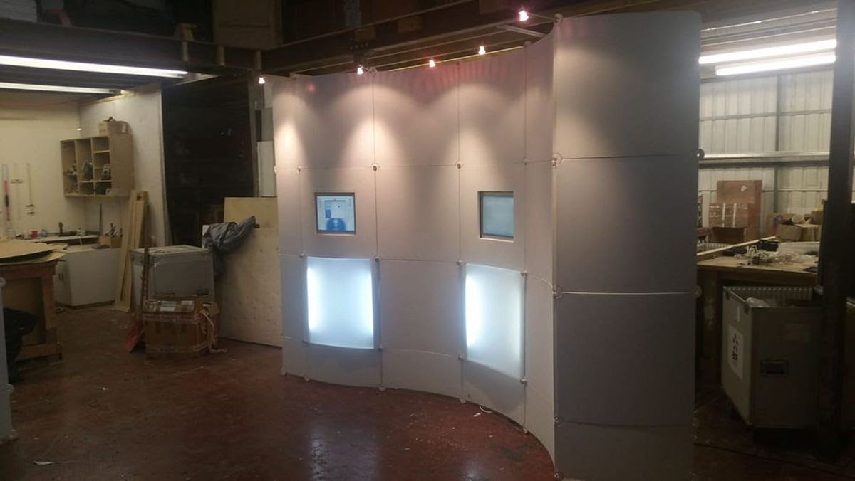 Exhibition Stand For Sale : Secondhand exhibition and display equipment av equipment top