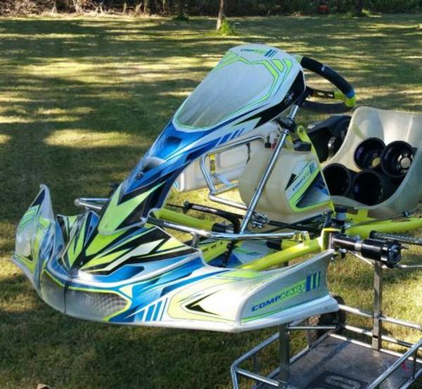 Birel Art Compkart 2016 Kart Rolling Chassis OTK Tonykart Alonso Kosmic