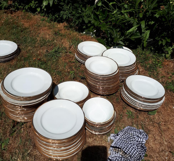 Job lot of plates