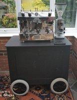 Dual Fuel Coffee Cart