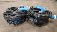 Cables and plugs for sale