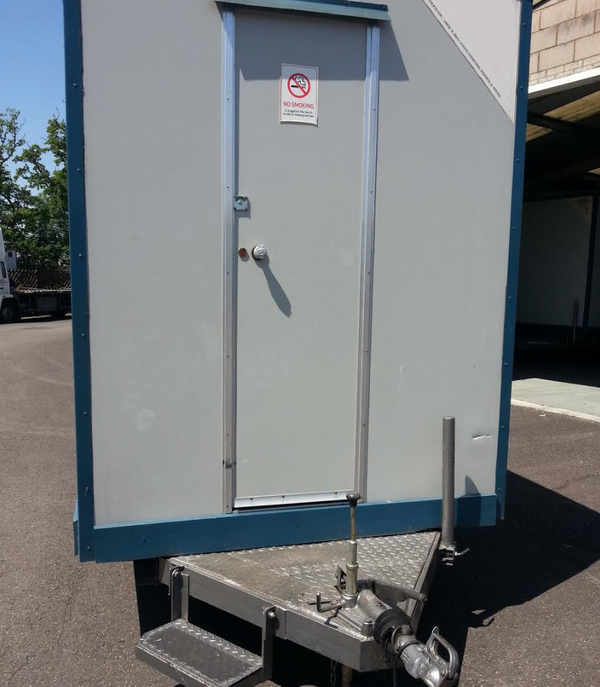 toilet trailer unit for sale