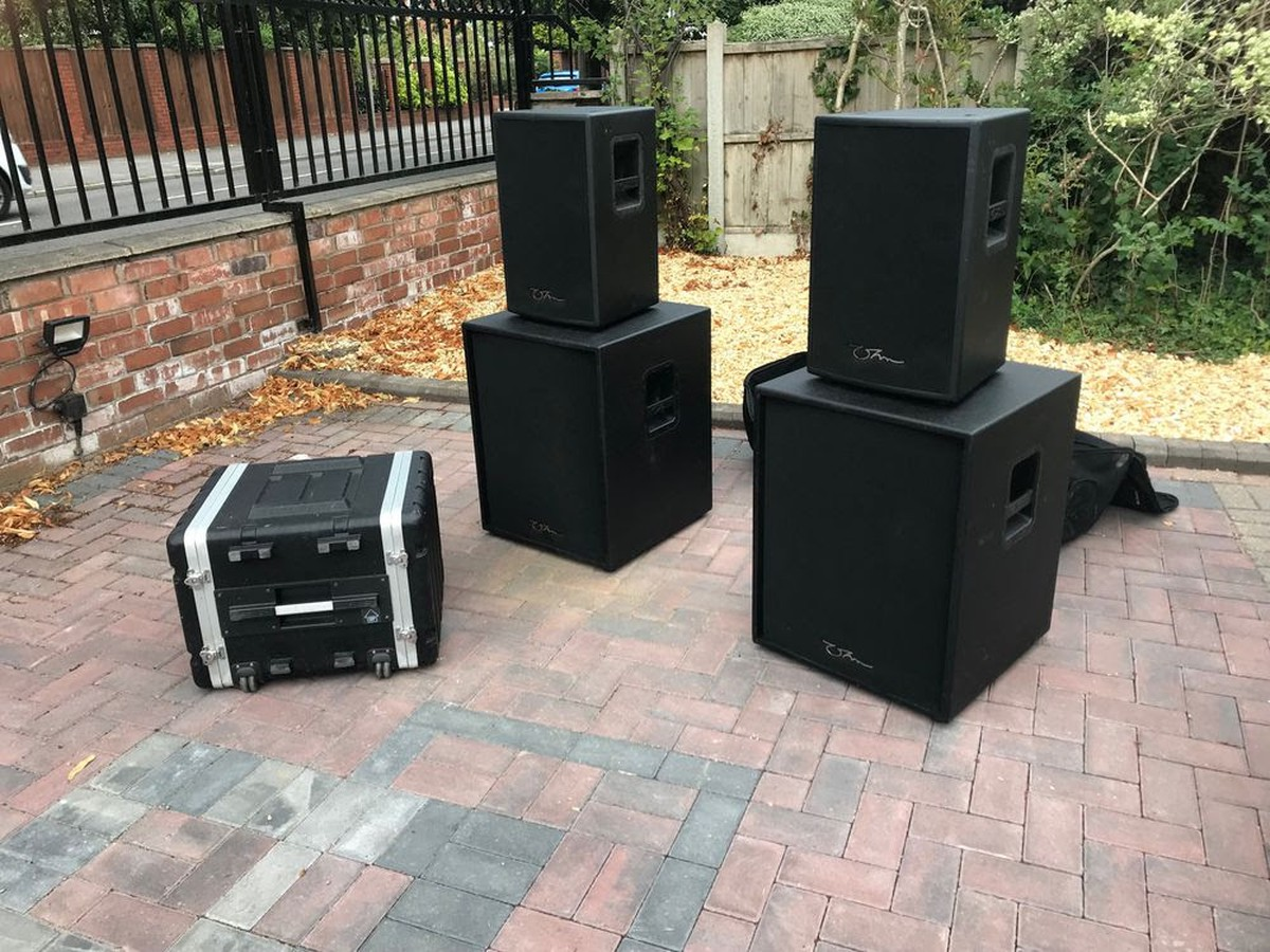 secondhand sound and lighting equipment loudspeakers ohm speakers and amplifiers liverpool. Black Bedroom Furniture Sets. Home Design Ideas