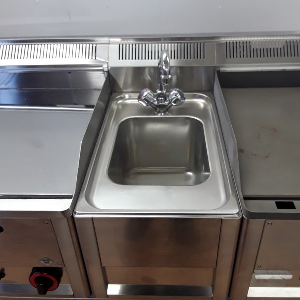 Single sink and griddle for sale