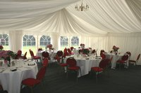 9m x 18m framed marquee for sale
