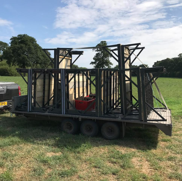Secondhand bar trailer for sale