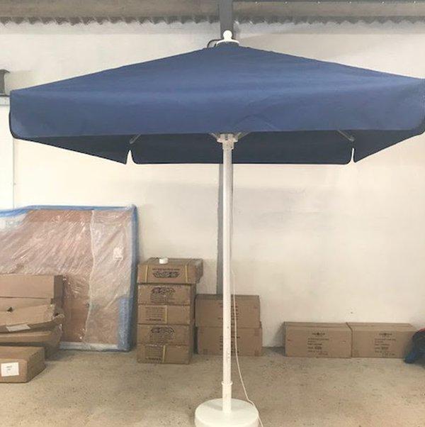 Schneider 2.10m Square Ex Demo Commercial Parasol
