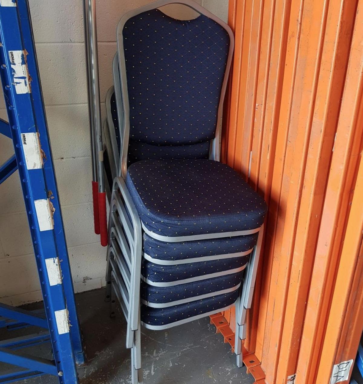 Secondhand Hotel Furniture Banquet Chair Job Lot