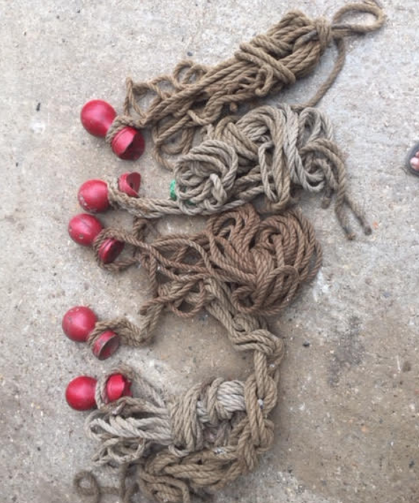 Secondhand rope