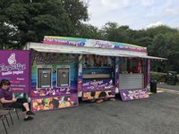 Self Serve Frozen Yogurt Trailer