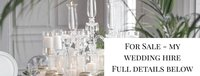 Luxury Wedding Decor Hire Business For Sale
