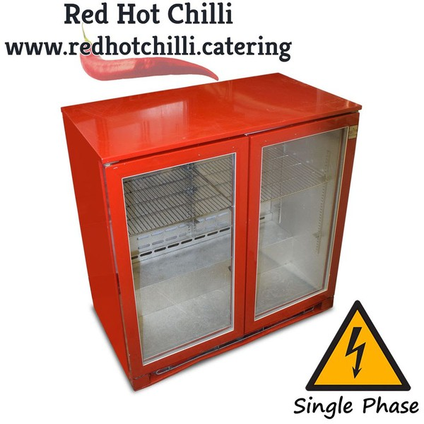 Red fridge for sale