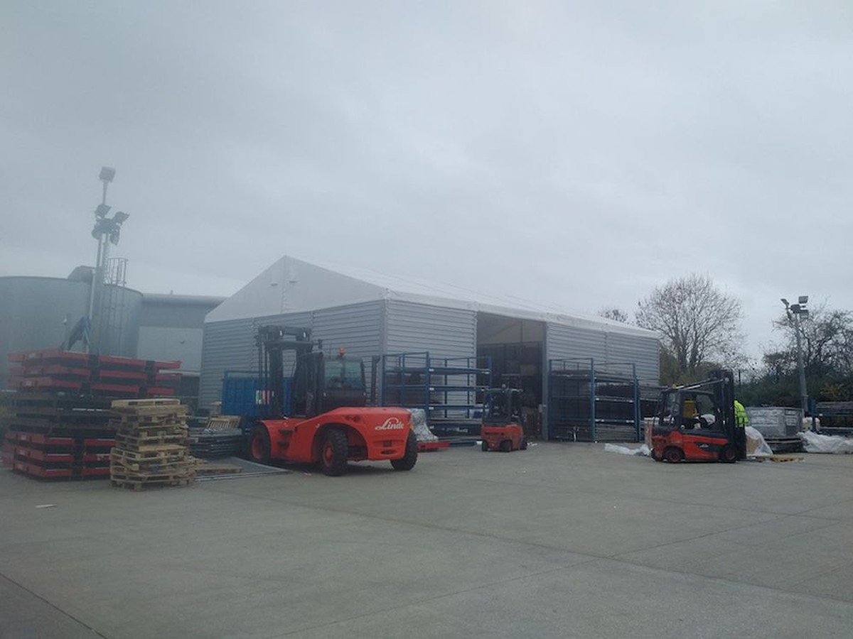 Secondhand Portable Buildings   Storage or Warehouse Marquees ...