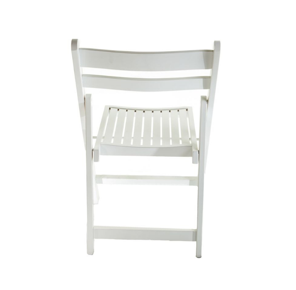 White folding chairs for sale