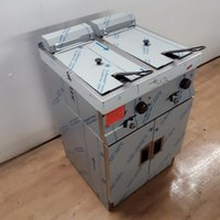 Double fryer for sale