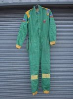 Green SPARCO KART SUIT