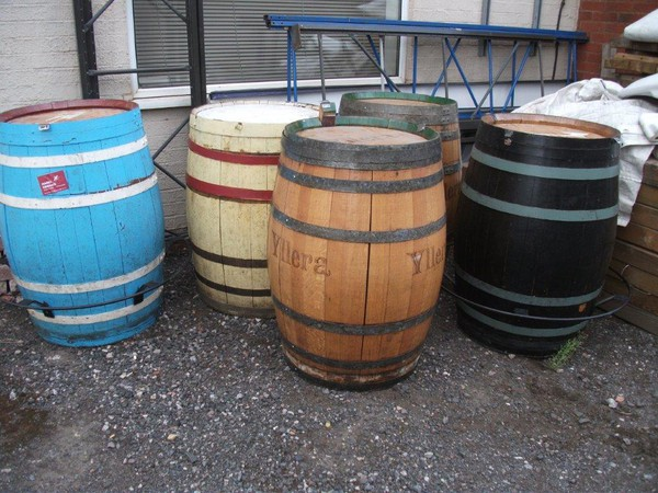 Secondhand pub barrels for sale