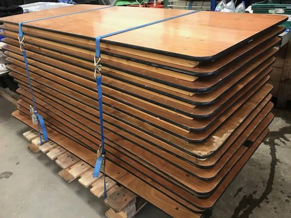 Job lot trestle tables for sale