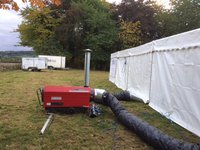 Marquee heater for sale