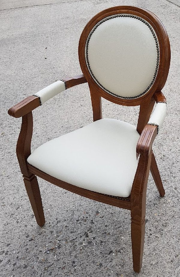 Brand New Stackable French Louis Chairs