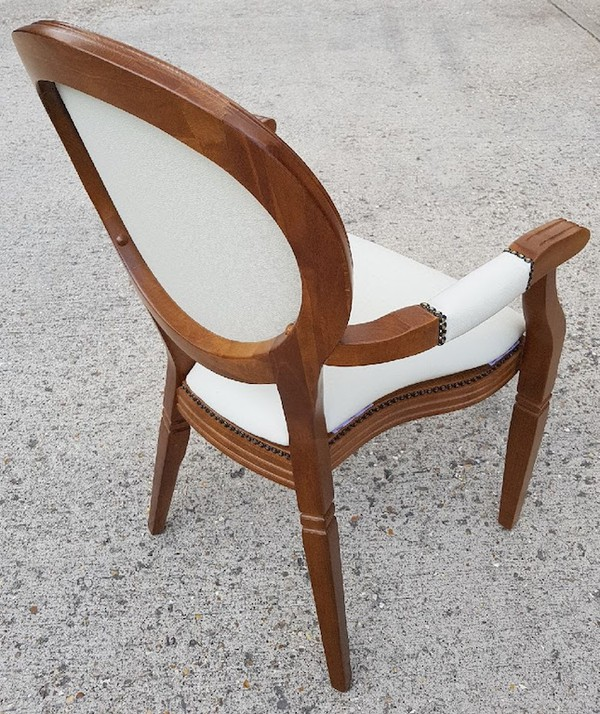 Brand New Stacking French Louis Chairs