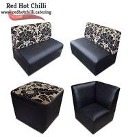 Black seating set