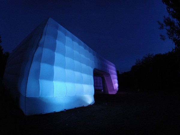 Used inflatable cube marquee