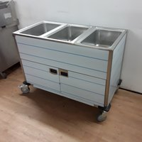 Three pot bain marie for sale