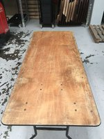 24 x Used Trestle Table 6ft x 2ft6