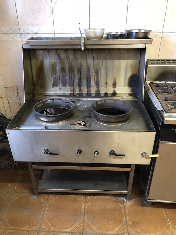 double wok cooker