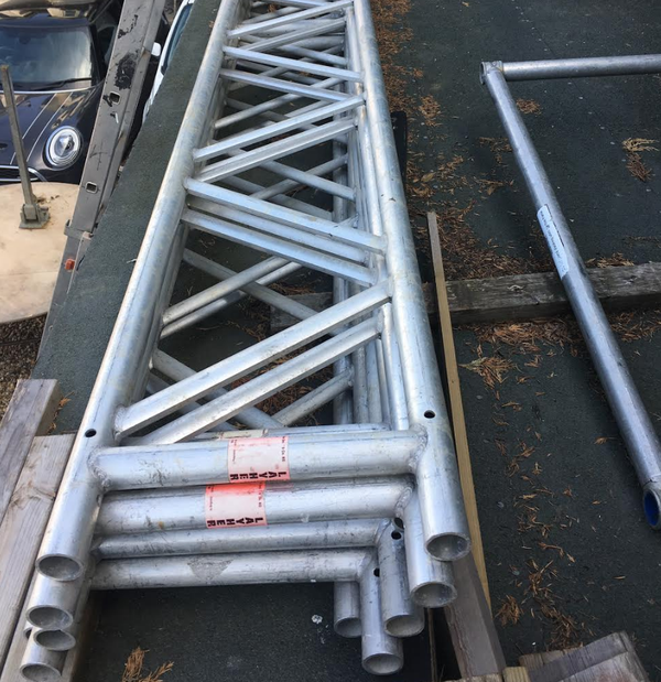 Aluminium beams for sale