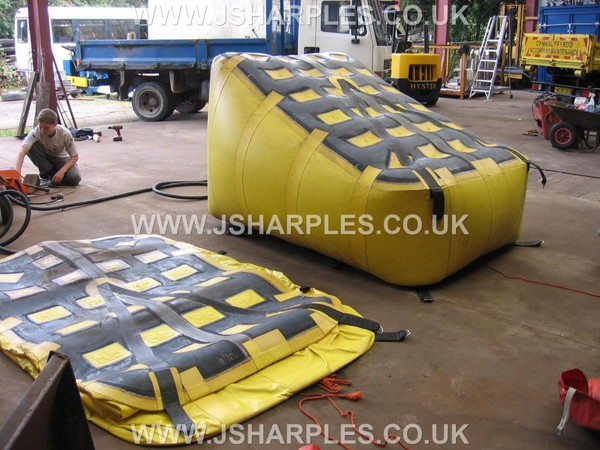 "Pair Of "" Mfc "" Large Wedge Air Bags"