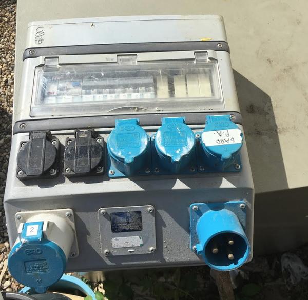 32 amp fuse board  Distribution box