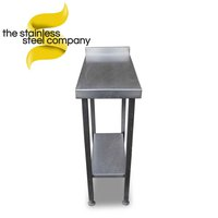 Steel filler table