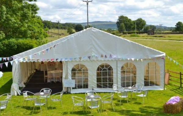 Complete Marquee, Lining & Wood Flooring 9m x 21m (30ft x 70ft approx)