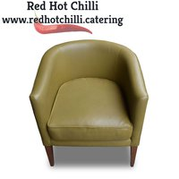 Tub leather chairs for sale