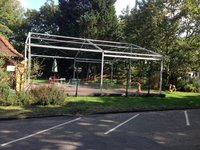 10mx10m Roder Marquee (used once)