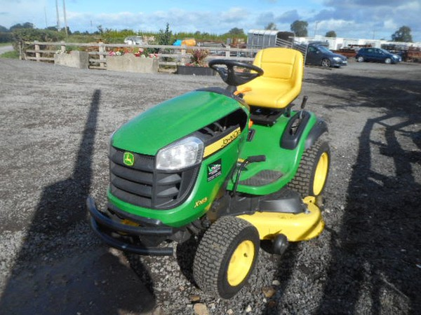 Secondhand mower