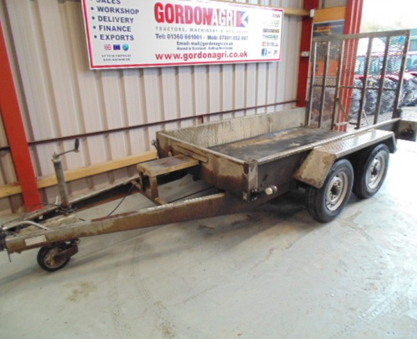 8x 4 Indespension plant trailer