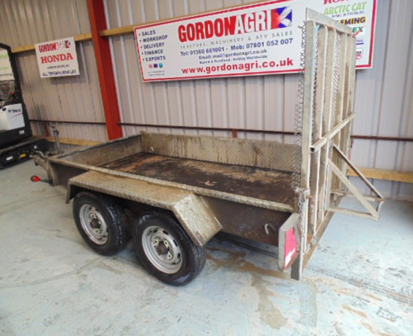 8x 4 Indespension Twin Axle plant trailer