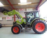 Claas Celtis 446 RX, 4WD, 2008 c/w Quicke Q41 Loader / Bucket / Fork