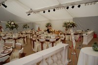 White Flat Linings for Marquee (Roder)