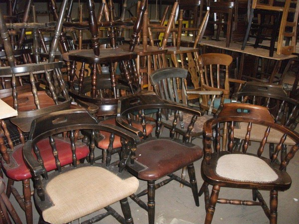 Secondhand 40's chairs